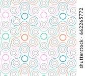 line colorful fidget spinners...   Shutterstock .eps vector #662265772