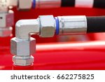 detail and part of industrial... | Shutterstock . vector #662275825