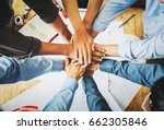 businessmen  structural... | Shutterstock . vector #662305846