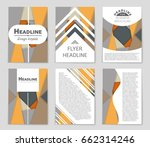 abstract vector layout... | Shutterstock .eps vector #662314246