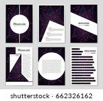 abstract vector layout... | Shutterstock .eps vector #662326162