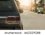 cars on the road heading... | Shutterstock . vector #662329288
