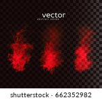 vector illustration of smoky... | Shutterstock .eps vector #662352982