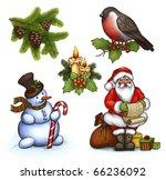 Christmas Illustrations Of...