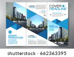 business brochure. flyer design.... | Shutterstock .eps vector #662363395