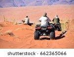 Tourists Quad Biking In The...