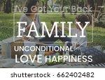 family parentage home love... | Shutterstock . vector #662402482