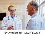 general practitioner receives...   Shutterstock . vector #662416216