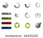 preloading signs | Shutterstock .eps vector #66243220