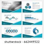 template presentation slides... | Shutterstock .eps vector #662449522