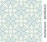 seamless floral pattern... | Shutterstock .eps vector #662481622