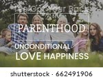 family parentage home love... | Shutterstock . vector #662491906