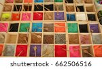 Various Colorful Sand And...