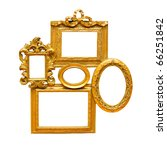 old antique frame with clipping ... | Shutterstock . vector #66251842