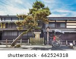 old street in historical city... | Shutterstock . vector #662524318