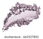 eye shadow stroke isolated on... | Shutterstock . vector #662527852