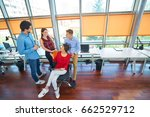 startup business people group... | Shutterstock . vector #662529712