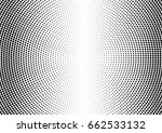 abstract halftone dotted... | Shutterstock .eps vector #662533132