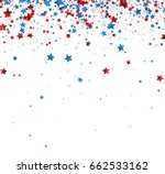 white background with red ... | Shutterstock .eps vector #662533162