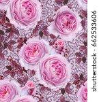floral seamless pattern. branch ...   Shutterstock . vector #662533606