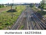 industrial background | Shutterstock . vector #662534866