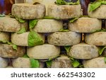 "cheese ""pecorino"" for sale in... | Shutterstock . vector #662543302"