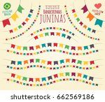 translation  little june party... | Shutterstock .eps vector #662569186