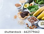 healthy food nutrition dieting... | Shutterstock . vector #662579662
