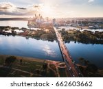 perth city | Shutterstock . vector #662603662