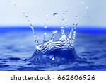 Water Drop And Splash Background