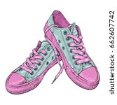 hand drawn vector illustration... | Shutterstock .eps vector #662607742