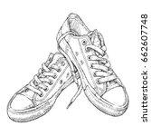 hand drawn vector illustration... | Shutterstock .eps vector #662607748