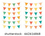 Triangle Shaped Bunting Flags...