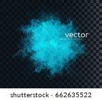 vector illustration of smoky... | Shutterstock .eps vector #662635522