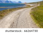 Gravel Country Route In Iceland....