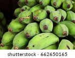 close up of fresh raw green... | Shutterstock . vector #662650165