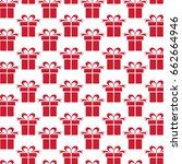 background with gifts. | Shutterstock .eps vector #662664946