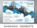 business brochure. flyer design.... | Shutterstock .eps vector #662666176