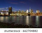 new york city manhattan midtown ... | Shutterstock . vector #662704882