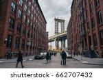 new york  usa   february 15 ... | Shutterstock . vector #662707432