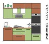 flat style vector illustration... | Shutterstock .eps vector #662773576