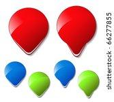 vector arrow buttons | Shutterstock .eps vector #66277855
