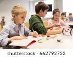 education  children  technology ... | Shutterstock . vector #662792722