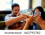 people  leisure  friendship and ... | Shutterstock . vector #662792782