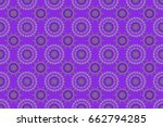 traditional raster gothic... | Shutterstock . vector #662794285