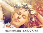 nature  summer holidays ... | Shutterstock . vector #662797762