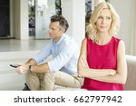 shot of a middle aged couple in ... | Shutterstock . vector #662797942