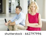 shot of a middle aged couple in ... | Shutterstock . vector #662797996