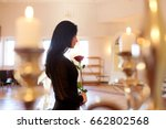 burial  people and mourning... | Shutterstock . vector #662802568