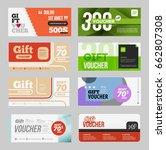 big promo voucher discount...   Shutterstock .eps vector #662807308